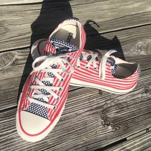 Converse All Star Chuck It American Flag Shoes